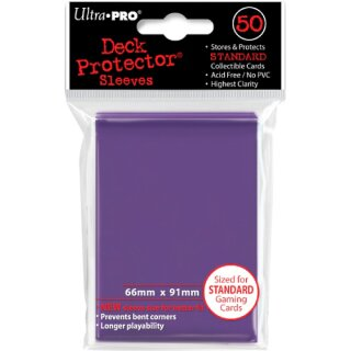 Ultra Pro - Deck Protector Sleeves - lila