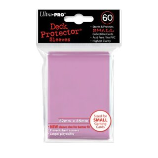 Ultra Pro - Deck Protector Sleeves - Solid Pink (60 Stk.)