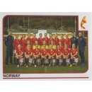 Sticker 36 - Team - Norwegen - Frauen EM2017