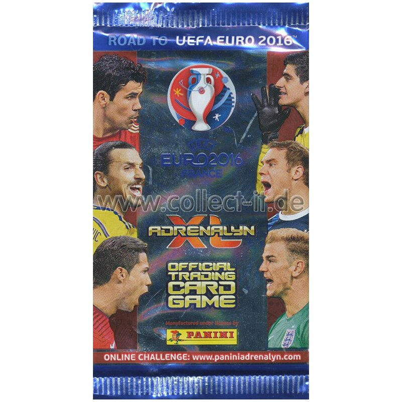 Panini Road to 2016 EM France Adrenalin XL - 1 Booster
