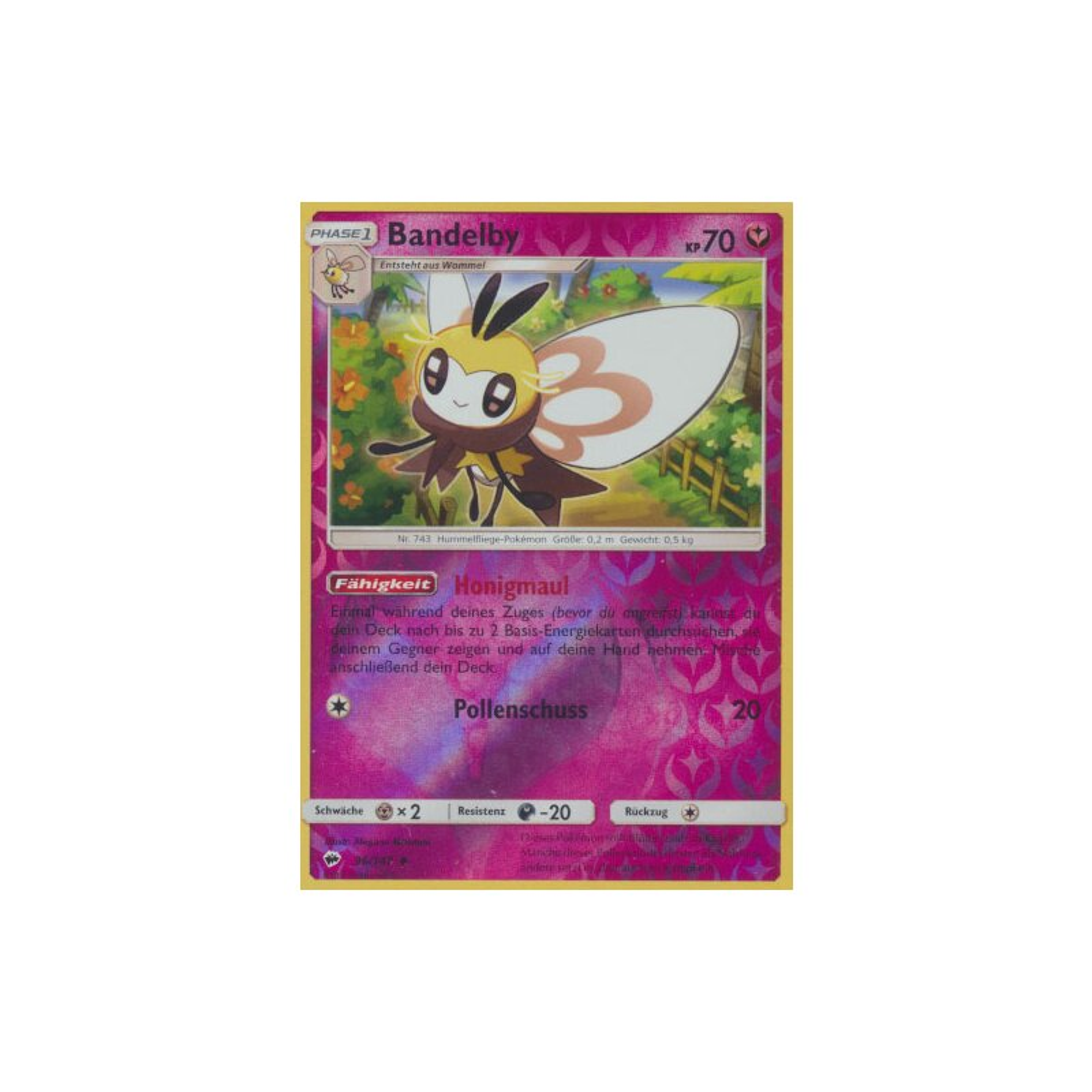 Nacht in Flammen Reverse Holo Pokemon 112//147 Lola