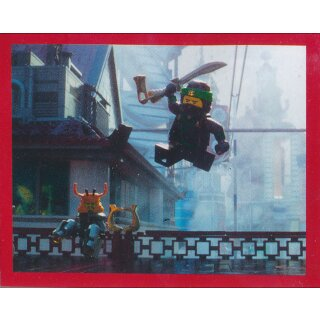 Blue Ocean Lego Ninjago-Movie-sammelsticker 177