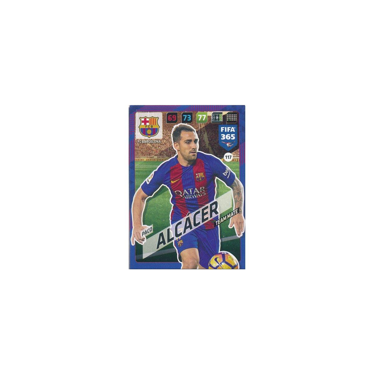 Fifa 365 Cards 2018 117 Paco Alcácer Fc Barcelona 039