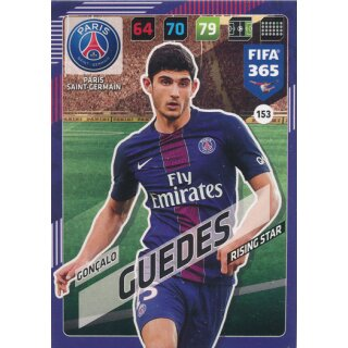 Fifa 365 Cards 2018 - 153 - Gonçalo Guedes - Paris Saint-Germain - Rising Star