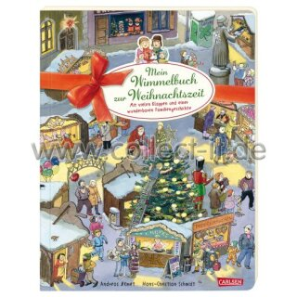 Wimmelbuch Weihnachten.Wimmelbuch Weihnachten