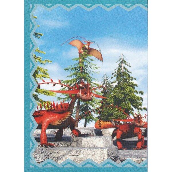 Panini Das Buch der Drachen Dragons Sticker 104
