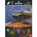 Nr. 10 - World of Tanks - Type 59 - Nation und Tank cards