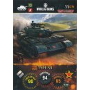 Nr. 11 - World of Tanks - Type 59 - Nation und Tank cards