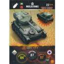 Nr. 22 - World of Tanks - AMX 12 T - Nation und Tank cards