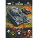 Nr. 23 - World of Tanks - AMX 13 75 - Nation und Tank cards