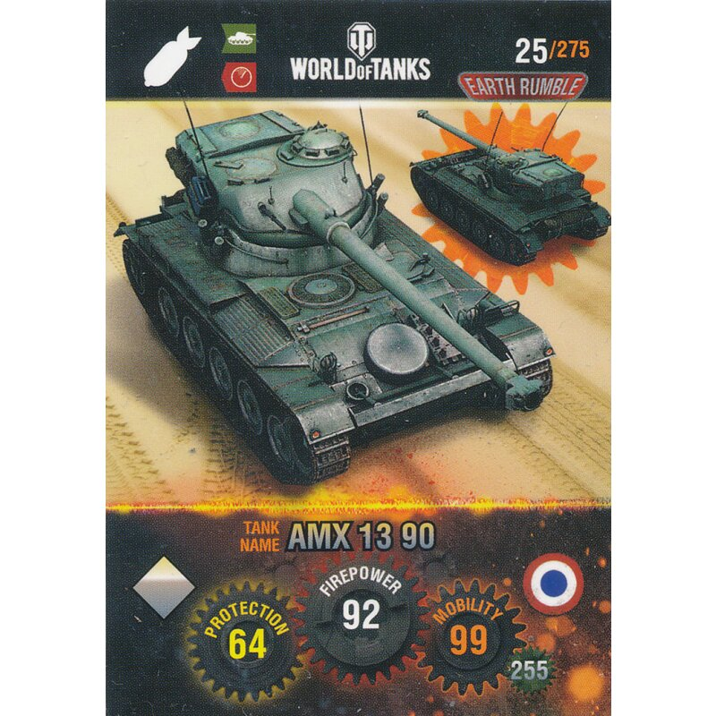 90 Name: Tiger II Nr Panini World of Tanks Trading Cards