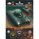 Nr. 26 - World of Tanks - AMX 40 - Nation und Tank cards