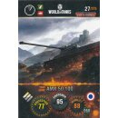 Nr. 27 - World of Tanks - AMX 50 100 - Nation und Tank cards