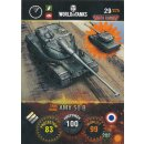 Nr. 29 - World of Tanks - AMX 50 B - Nation und Tank cards