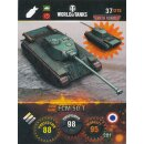Nr. 37 - World of Tanks - FCM 50 T - Nation und Tank cards