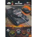 Nr. 60 - World of Tanks - Leopard 1 - Nation und Tank cards
