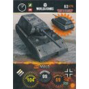 Nr. 63 - World of Tanks - Maus - Nation und Tank cards