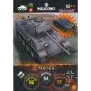 Nr. 66 - World of Tanks - Panther - Nation und Tank cards