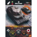 Nr. 110 - World of Tanks - Type 5 - Nation und Tank cards