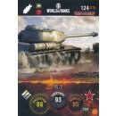 Nr. 124 - World of Tanks - IS-2 - Nation und Tank cards