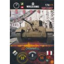 Nr. 174 - World of Tanks - Cromwell - Nation und Tank cards
