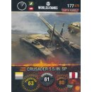 Nr. 177 - World of Tanks - Crusader 5.5-IN. SP - Nation...