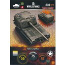 Nr. 202 - World of Tanks - M53/M55 - Nation und Tank cards