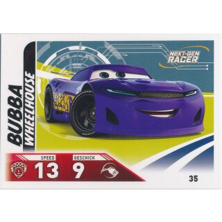 Cars 3 - Trading Cards - Karte 35