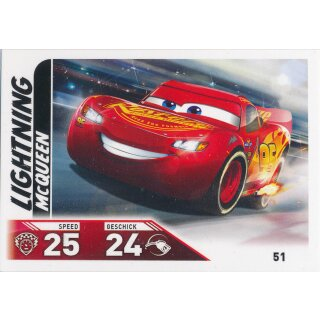 Cars 3 - Trading Cards - Karte 51