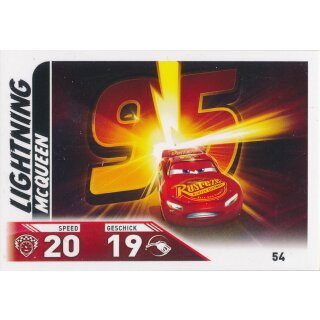 Cars 3 - Trading Cards - Karte 54
