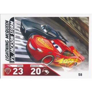 Cars 3 - Trading Cards - Karte 58