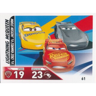 Cars 3 - Trading Cards - Karte 61