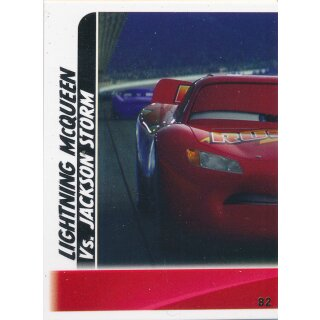 Cars 3 - Trading Cards - Karte 82