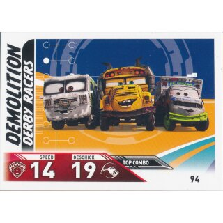 Cars 3 - Trading Cards - Karte 94