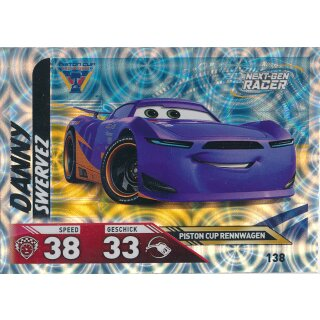Cars 3 - Trading Cards - Karte 138