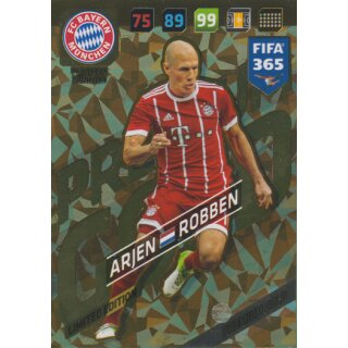 Fifa 365 Cards 2018 - LE29 - Arjen Robben - Limited Edition
