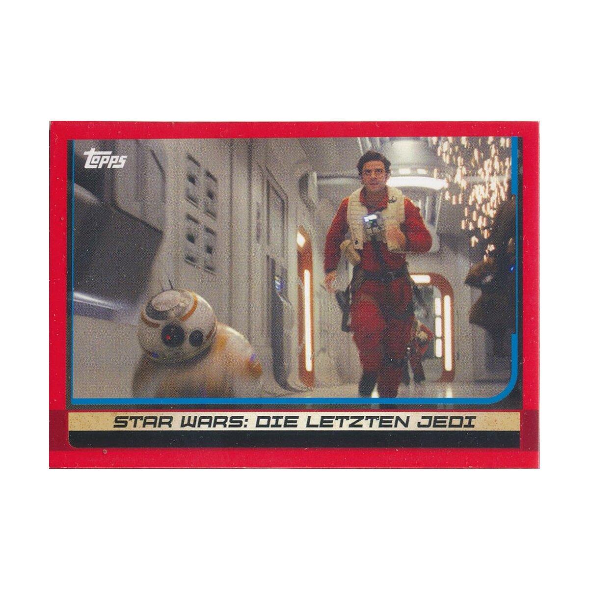 Die Letzten  76 Rose Force Attax Die Reise zu Star Wars