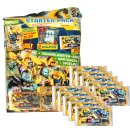 LEGO Nexo Knights 2 - Trading Cards - 1 Starter + 10...