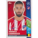 CL1718 - Sticker 54 - Yannick Carrasco Club - Atlético de...