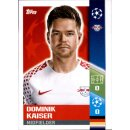 CL1718 - Sticker 92 - Dominik Kaiser - RB Leipzig