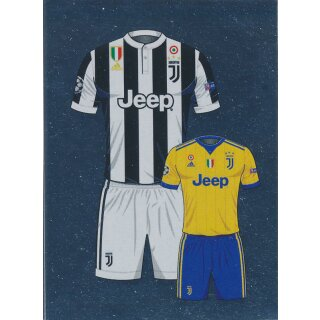 new style 23755 16e9a CL1718 - Sticker 194 - Home / Away Kit - Juventus