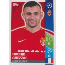 CL1718 - Sticker 244 - Rachid Ghezzal - AS Monaco FC