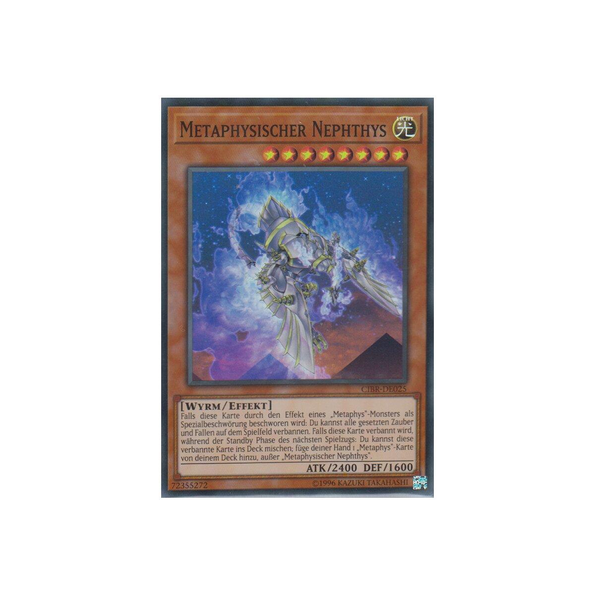 CIBR-DE025 Metaphysischer Nephthys   Super Rare 1.Auflage neu