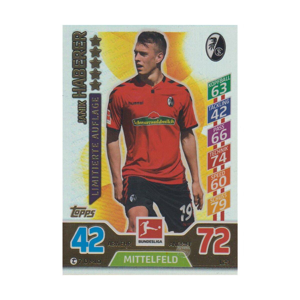 Match Attax l3-Martin Harnik saison 17//18