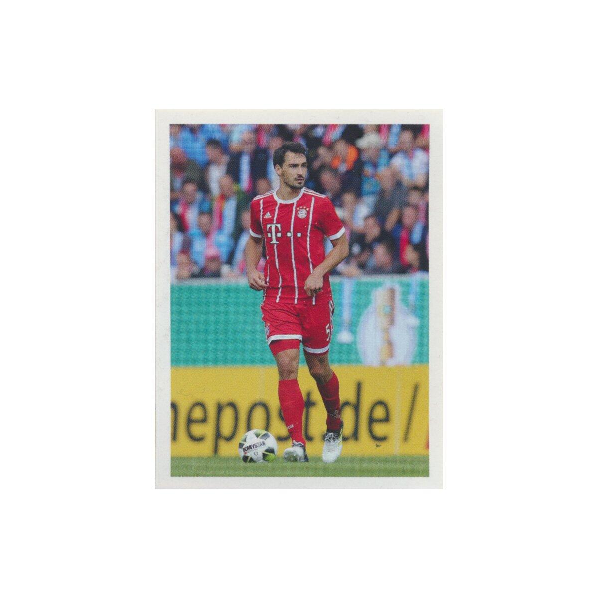 Sticker 4 Panini FC Bayern München 2017//18 Mannschaftsbild BAM1718