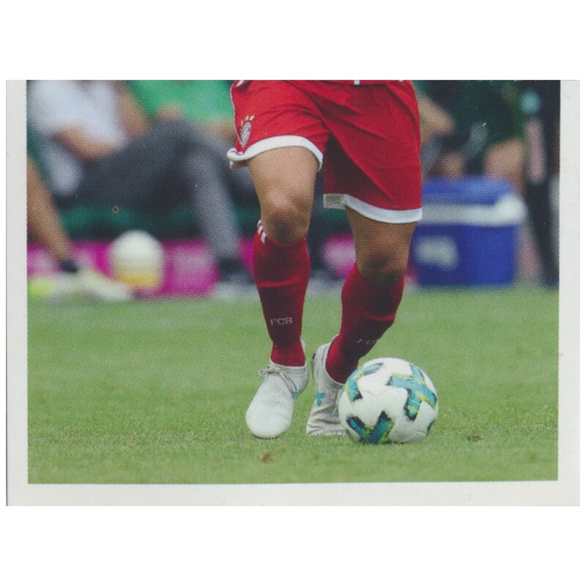 BAM1718 James Rodriguez Panini FC Bayern München 2017//18 Sticker 110