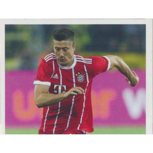 Sticker 153 BAM1718 Robert Lewandowski Panini FC Bayern München 2017//18