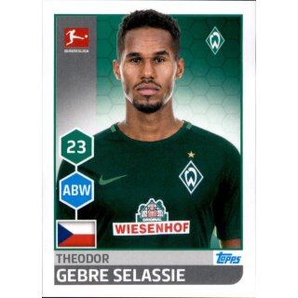 Chadrac Akolo Sticker 255 TOPPS Bundesliga 2017//2018