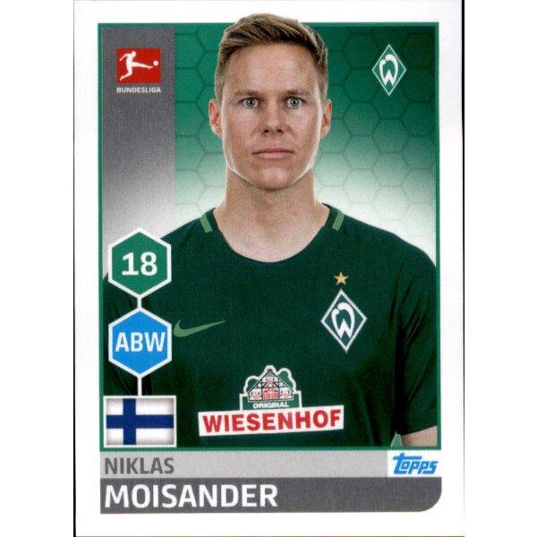 TOPPS Bundesliga 2017//2018 Sticker 40 Lamine Sane