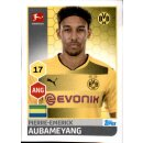 TOPPS Bundesliga 2017/2018 - Sticker 61 - Pierre-Emerick...